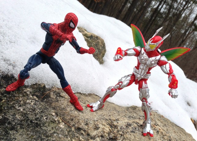 Amazing Spider-Man 2 Marvel Legends Figure vs Ultimate Beetle