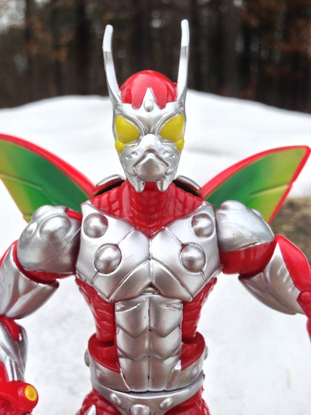 Ultimate Beetle Marvel Legends 2014 Action Figure Close-Up