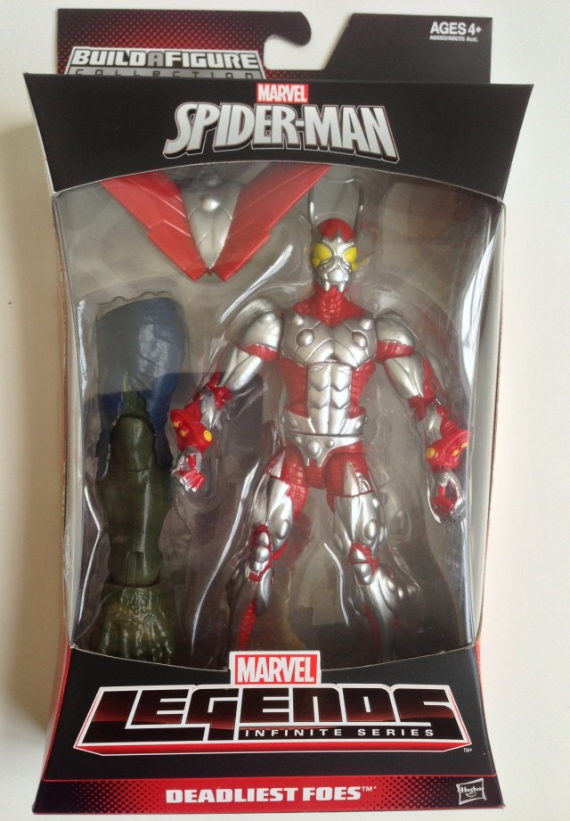 Spider-Man Marvel Legends 2014 Ultimate Beetle Deadliest Foes Packaged