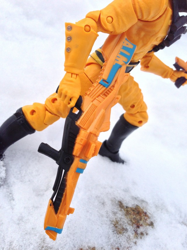 Marvel Legends Infinite Series AIM Trooper Rifle Gun Close-Up