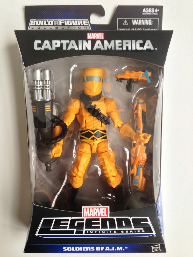 Marvel Legends AIM Trooper Figure Packaged