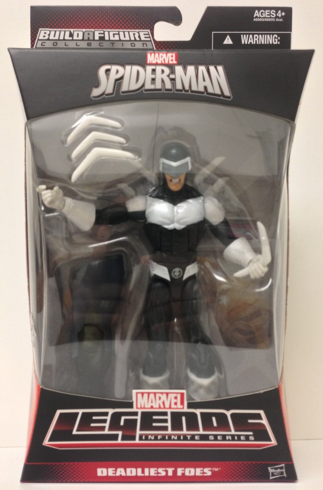 Amazing Spider-Man 2 Marvel Legends 2014 Boomerang Figure Packaged