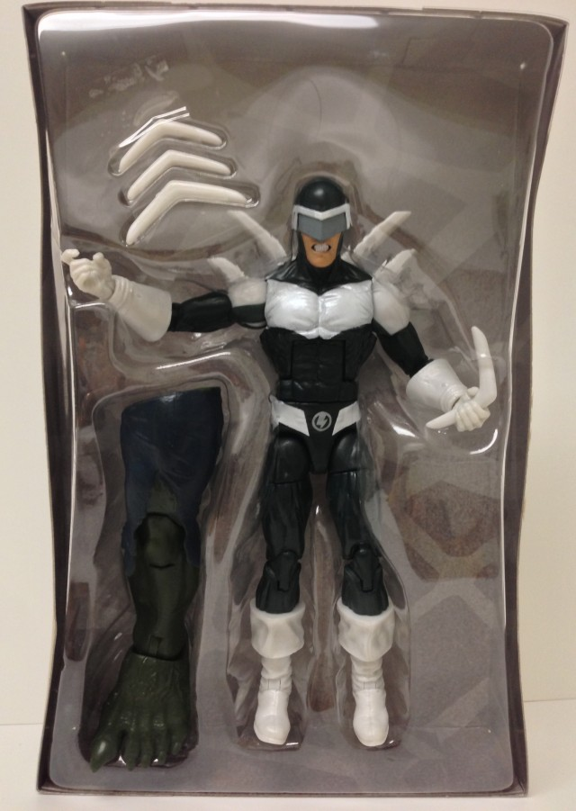 Marvel Legends 2014 Boomerang Variant Swap Figure and Accessories