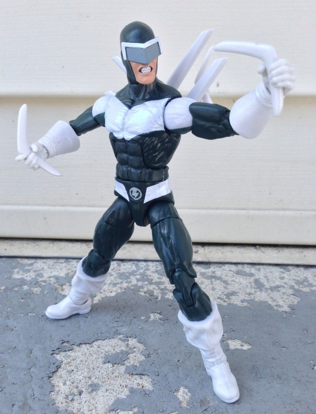 Boomerang Marvel Legends Infinite Series Figure Variant Running Change