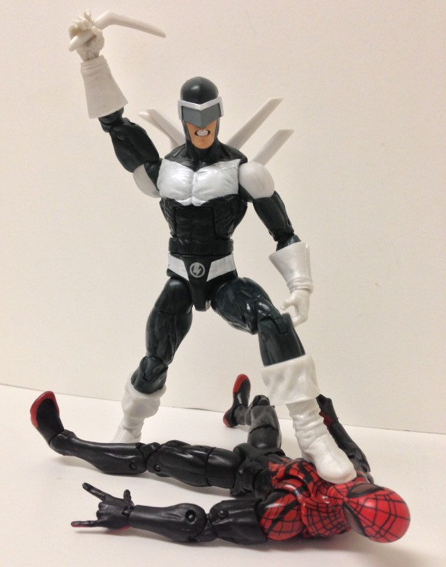 Marvel Legends Boomerang Running Change Action Figure Hasbro 2014