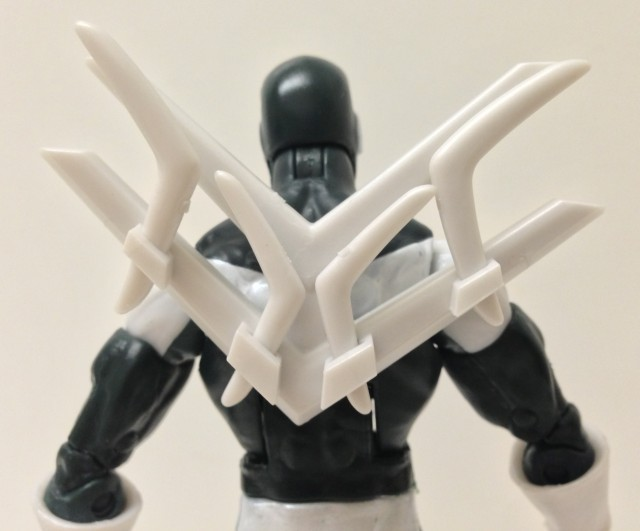Spider-Man Legends Boomerang Action Figure Backpack Weapons Rack of Boomerangs