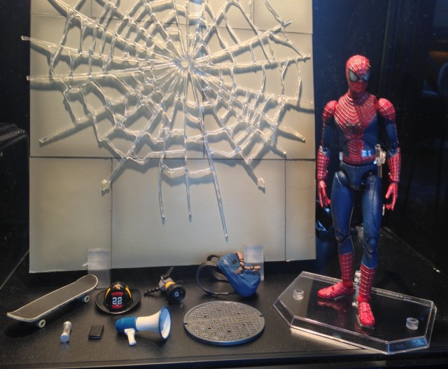 New York Toy Fair 2014 MAFEX Amazing Spider-Man 2 DX Set