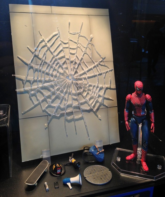 Toy Fair 2014 Amazing Spider-Man 2 DX MAFEX Set Revealed