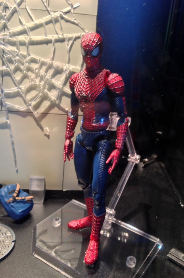 Amazing Spider-Man 2 MAFEX Action Figure Toy Fair 2014