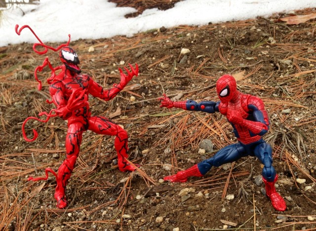 Hasbro Marvel Legends Spider-Man vs. Carnage Infinite Series Figures 2014