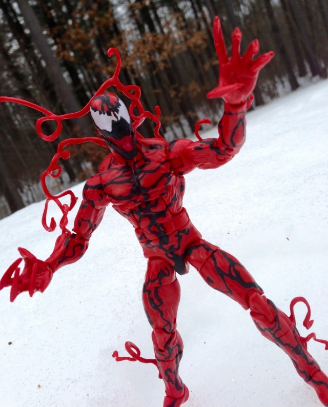 Marvel Legends Carnage Infinite Series Figure Review