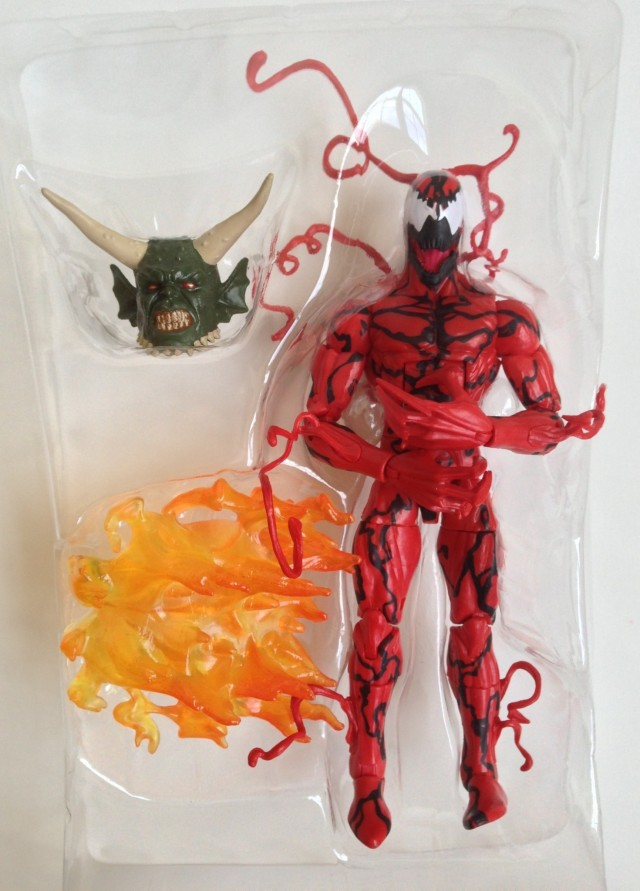 Spider-Man Marvel Legends 2014 Carnage Figure and Accessories