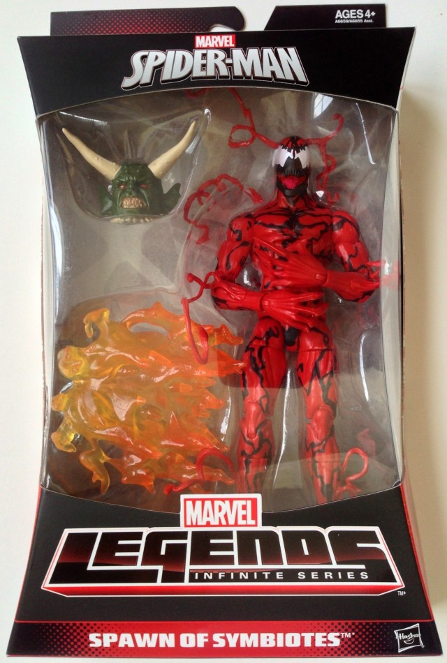 Carnage Marvel Legends 2014 Figure Packaged