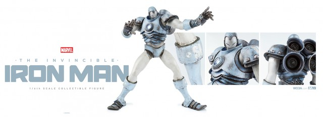 3A Toys Prototype Iron Man Sixth Scale Figure Exclusive