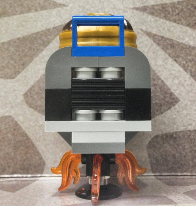 Back of Hoverchair from LEGO MODOK Minifigure LEGO 2014 Marvel Superheroes