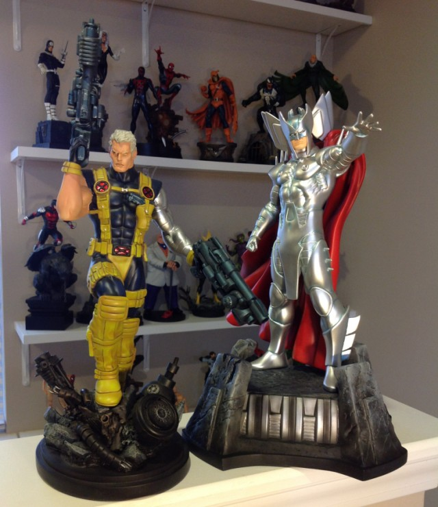 Bowen Designs Cable and Stryfe Full-Size Statues