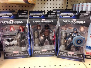 Captain America The Winter Soldier Marvel Legends Figures Released