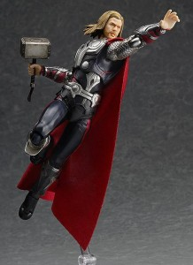 Figma Avengers Thor Figure with Flight Stand Max Factory 2014
