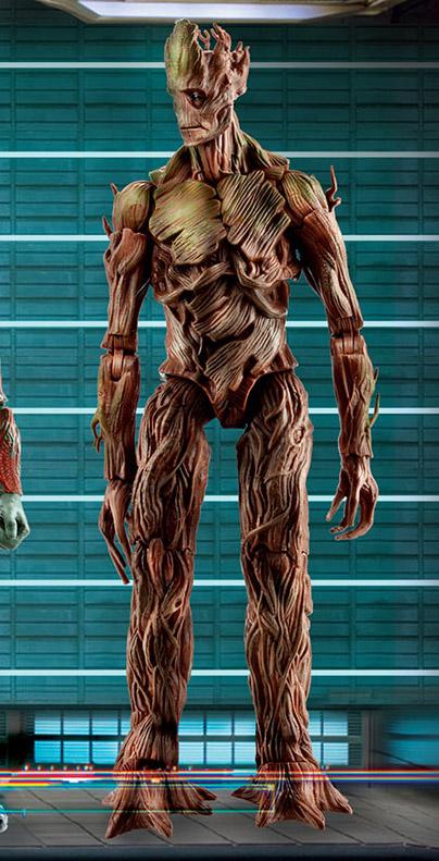 [Hasbro] Marvel Legends | Guardiões da Galaxia Guardians-of-the-Galaxy-Marvel-Legends-Groot-Build-A-Figure