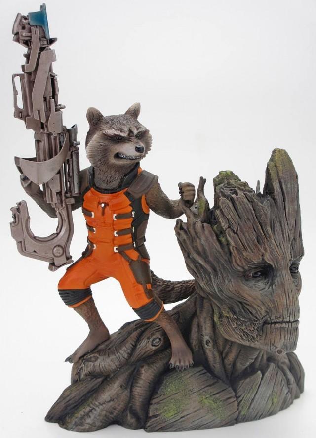 Kotobukiya Guardians of the Galaxy Rocket Raccoon & Groot Statue