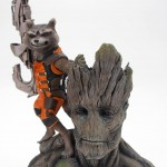 Kotobukiya Rocket Raccoon & Groot ARTFX+ Statue Revealed!