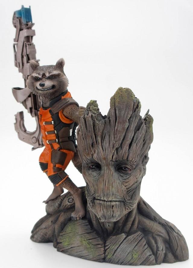 Kotobukiya Rocket Raccoon and Groot ARTFX+ Statue