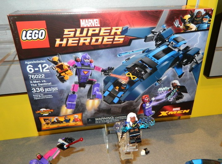 LEGO 76022 X-Men vs The Sentinel Box and Storm Minifigure Toy Fair    Lego Marvel X Men Sets