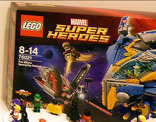 LEGO Guardians of the Galaxy Milano Spaceship Rescue Photo! - Marvel ...