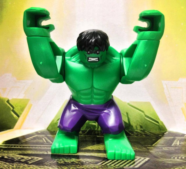 LEGO Hulk Minifigure with Purple Pants from Hulk Lab Smash LEGO Set