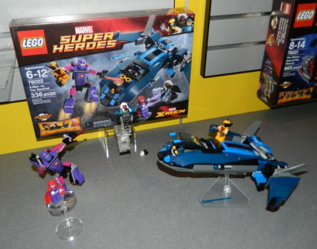 LEGO X-Men vs  The Sentinel 76022 Set Summer 2014 LEGO MarvelLego Marvel X Men Sets