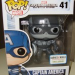 Funko Captain America Winter Soldier Black & White Exclusive POP Vinyl!