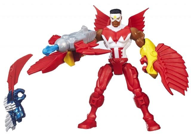 Marvel super hero mashers venom falcon loki doc ock announced
