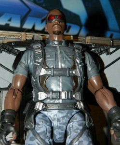 The Falcon Marvel Select Captain America The Winter Soldier Figure Close-Up