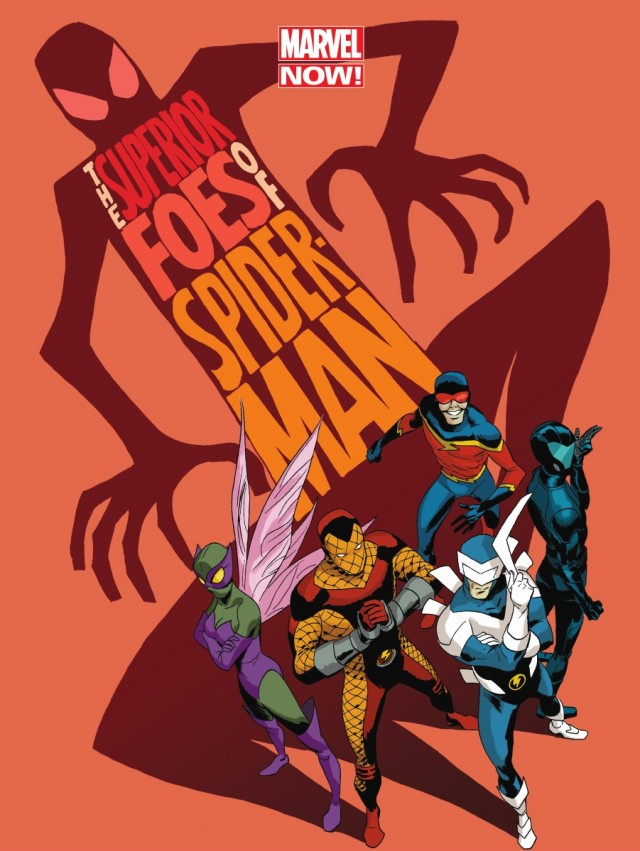 The Superior Foes of Spider-Man #1 Cover Marvel NOW
