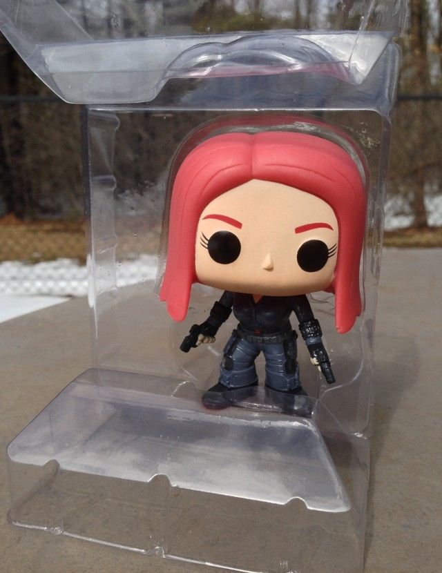 Black Widow POP Vinyls Winter Soldier Figure