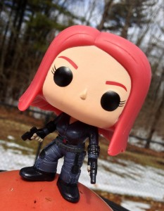 Funko Captain America The Winter Soldier Black Widow Vinyl Figure Review
