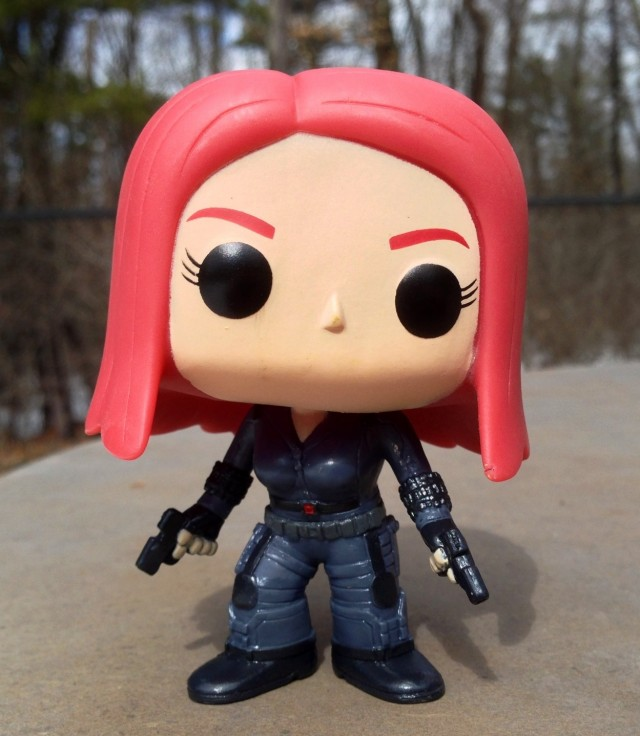 Marvel Funko POP Vinyls Black Widow Scarlett Johansson Figure