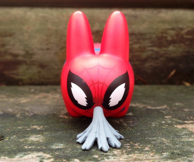 Labbits Series 2 Spiderman Vinyl Puking Up Webs