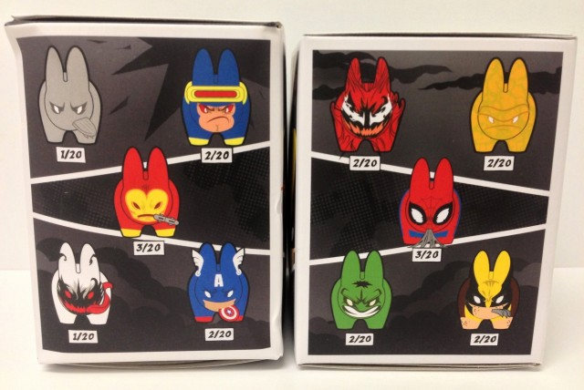 KidRobot Marvel Labbit Series 2 Figures Ratios