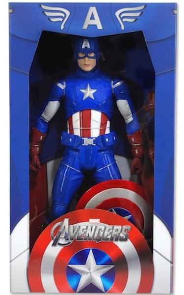 Marvel Gallery Avengers Captain America Figure BOX DANAGED