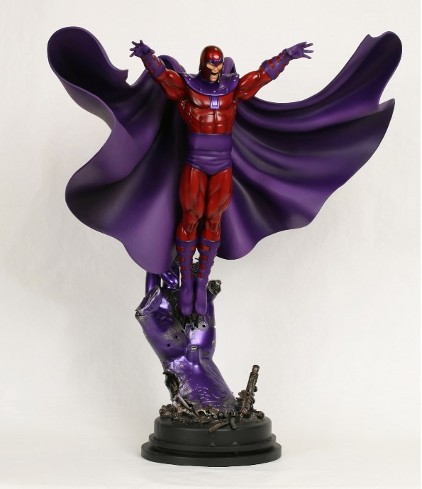 Bowen Designs Magneto Action Pose Statue