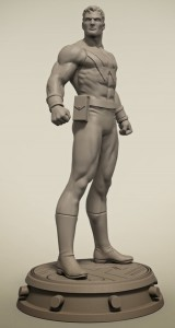 Bowen Wonder Man Statue by Jason Smith 2014