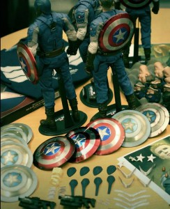 Captain America The Winter Soldier Hot Toys Captain America Shields