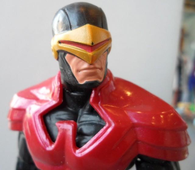 Close-Up of X-Men Wolverine Legends Phoenix Five Cyclops 2013 Hasbro Figure