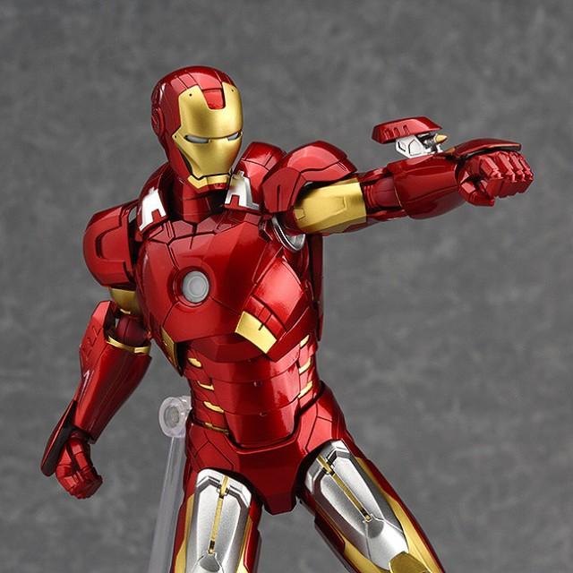 Figma Iron Man Mark Vii Figma Avengers Iron Man Full