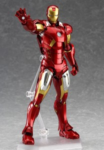 Figma Avengers Iron Man Mark VII Figure on Stand