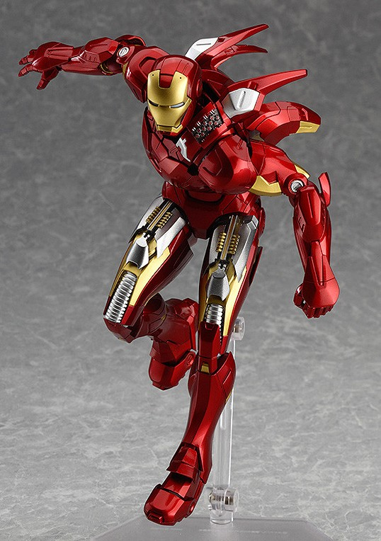 The Avengers Marvel 217 Iron Man Mark 7 PVC Action Figure Collection No Box