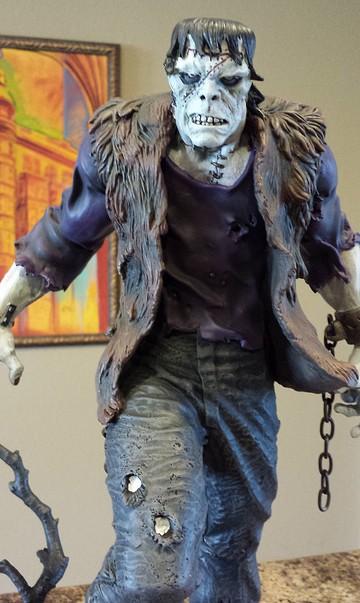 Frankenstein Statue Bowen Designs 2014