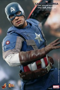 Golden Age Captain America The Winter Soldier Hot Toys MMS 240 Sixth Scale Figure