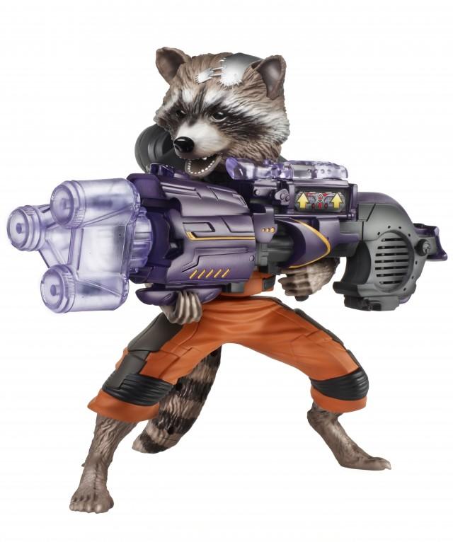 Guardians of the Galaxy Big Blastin' Rocket Raccoon Action Figure Hasbro 2014